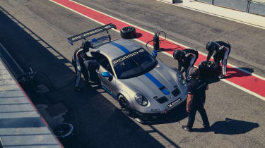 992 Porsche 911 GT3 Cup top