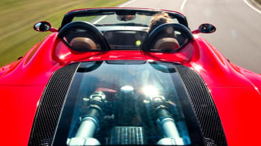 Porsche Boxter Spyder v Ferrari 360 Spider