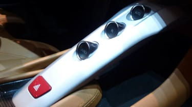 Ferrari F12 Berlinetta gear selector