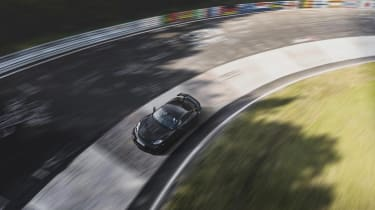 Porsche 718 Cayman GT4 RS proto –carousel
