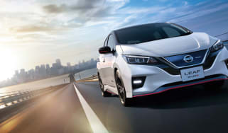 Nissan Leaf Nismo front three quarters