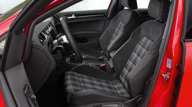 2013 Volkswagen Golf GTD tartan seats