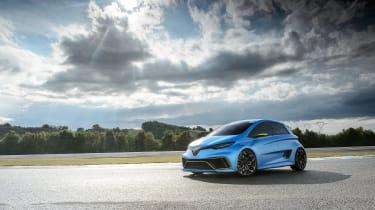 Renault Zoe E-Sport - front three quarter