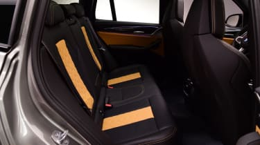 BMW X3 M interior rear