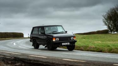 Bishops Heritage Range Rover – quarter