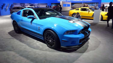 2011 Los Angeles motor show: Ford Shelby Mustang GT500