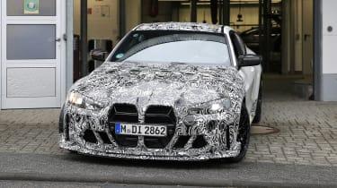 BMW M4 CSL spy 2021 – nose