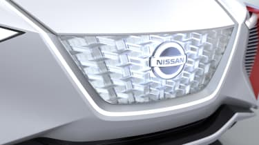Nissan iMx Concept - grill