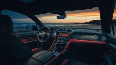 Bentley Bentayga S – dash