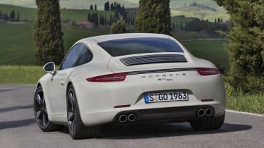 Porsche 911 50 Years Edition Geyser Grey