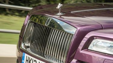 Rolls-Royce Wraith grille Spirit of Ecstasy