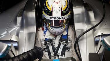 Lewis Hamilton in 2016 car