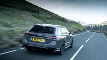 Peugeot 508 PSE – rear tracking