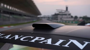 Huracan Trofeo roof scoop