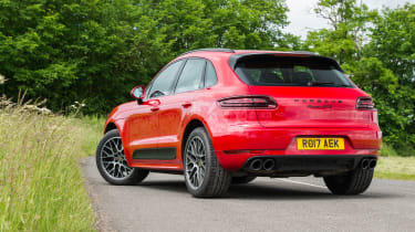 eCoty Porsche Macan GTS - rear static