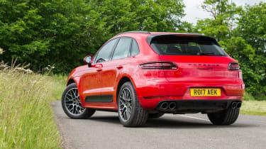 eCoty Porsche Macan GTS - rear static