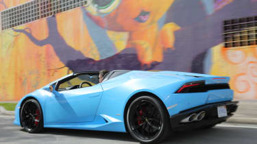 Lamborghini Huracan Spyder - rear three quarter