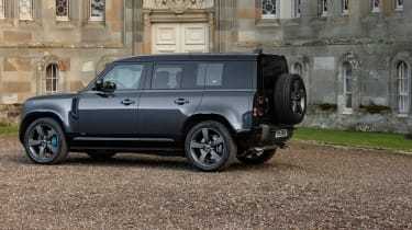 Land Rover Defender V8 MY22 - 110 static rear