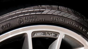 Mercedes-Benz C63 AMG Coupe – tyre/wheel