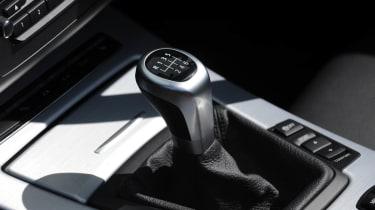 2013 BMW Z4 sDrive18i manual gear stick knob