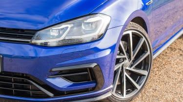 Volkswagen Golf R - front detail