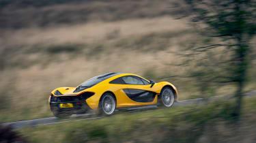 McLaren P1 yellow DS - side
