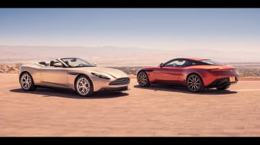 Aston Martin DB11 Volante - twin static