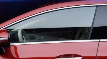 Mercedes-Benz CLS window