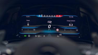 Volkswagen Golf R 2021 review - screen