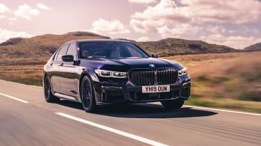 BMW 7-series 2019 tracking