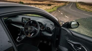 2021 Toyota GR Yaris black - cabin