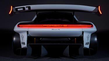 Porsche Mission R – rear