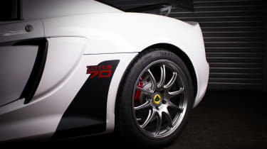 Lotus Exige 380 70th Edition – Monaco White - wheel