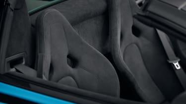 McLaren 570S Spider track pack seats