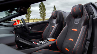 Lamborghini Huracán Evo Spyder – seats