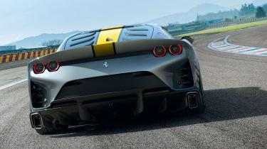 Ferrari 812 Competizione rear