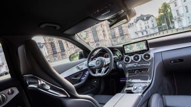 Mercedes-AMG C43 2018 facelift - dash