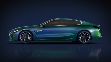 BMW M8 Concept - profile