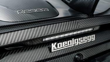 Koenigsegg Regera KNC - rear