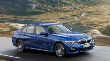 BMW 3-series G20 revealed - M Sport front quarter