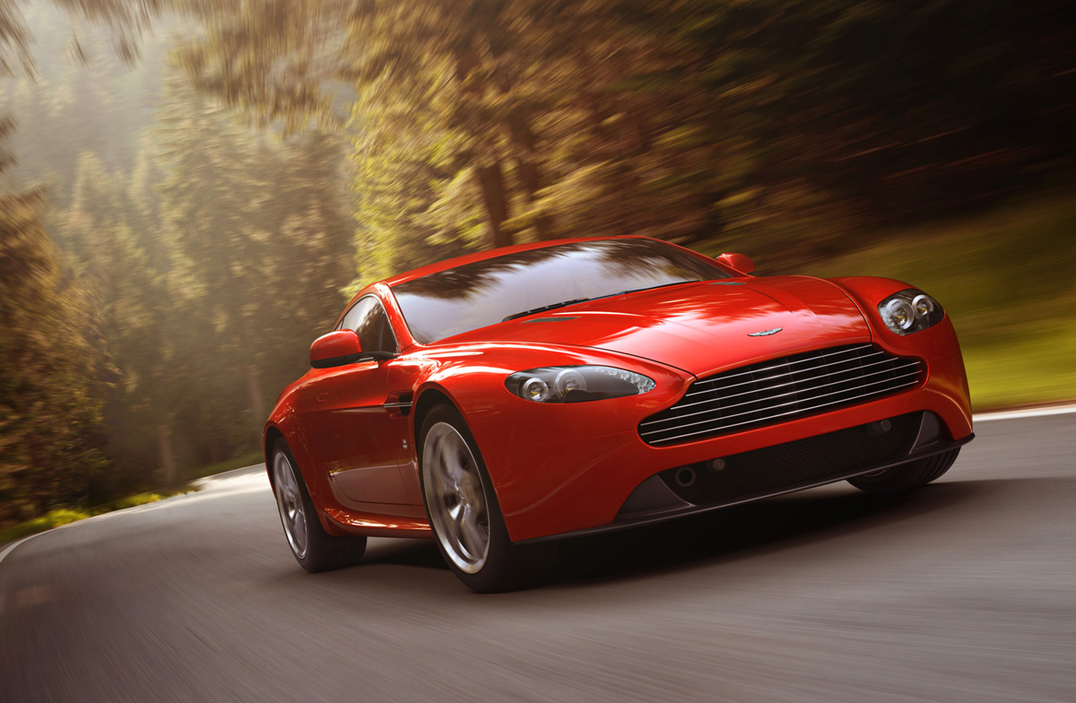 Aston Martin V8 Vantage Review Evo
