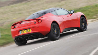 Lotus Evora S Sports Racer red and black