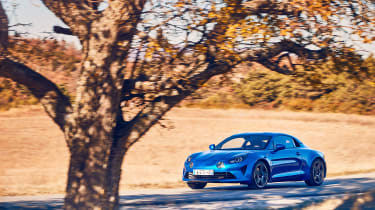 Alpine A110 - front static