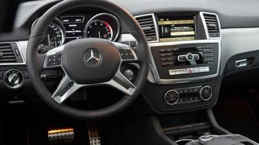 Mercedes ML350 CDI dash