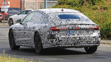 Audi A7 spied - rear