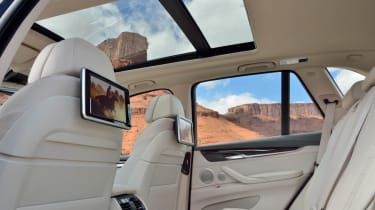 New 2013 BMW X5 rear seats