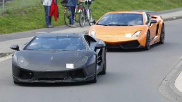 Lamborghini Murcielago replacement supercar
