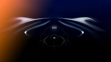 McLaren BP23 sketch – driver view