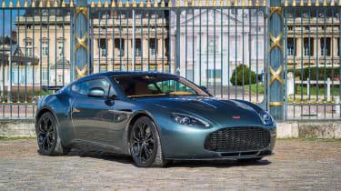 Aston Martin V12 Zagato Coupe – front quarter