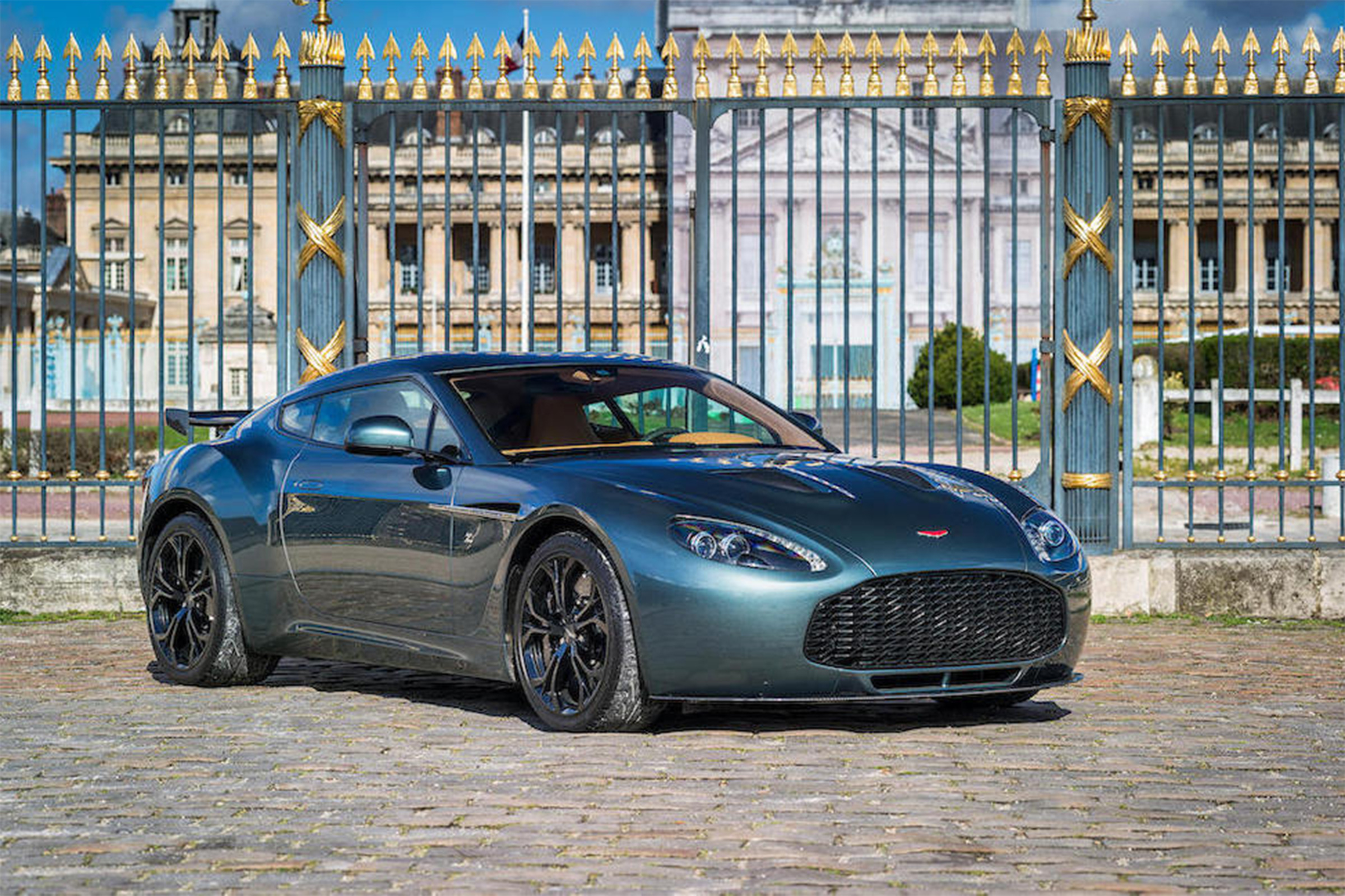 Rare Aston Martin V12 Zagato Coupe Set For Auction With 660 000 Estimate Evo